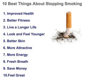 smoking cessation courses