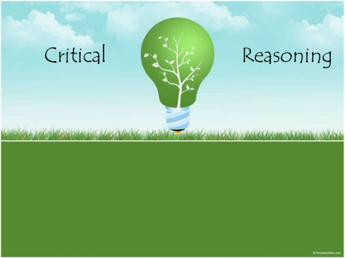 Learning the art of critical reasoning