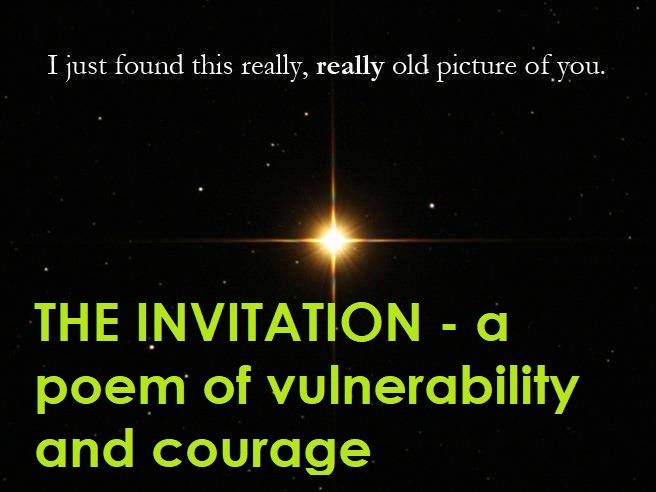 The invitation poem